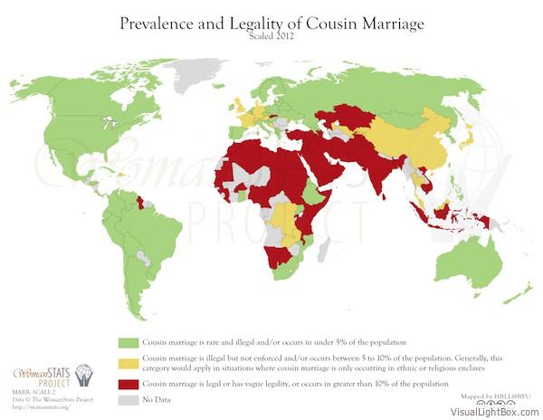 Marriage second cousin genetics in medicine