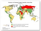 Presence of National Gender Equality ACtion Plan Statistic