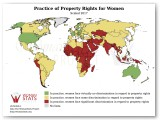 Practice of Property Rights for Women Statistic
