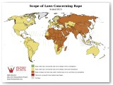 Scope of Laws Concerning Rape Statistic