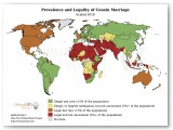 Prevalence and Legality of Cousin Marriage Statistic