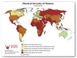 Estadística de seguridad física de la mujer